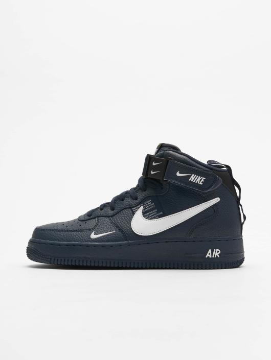 nike sportswear air force 1 mid 07 baskets montantes black