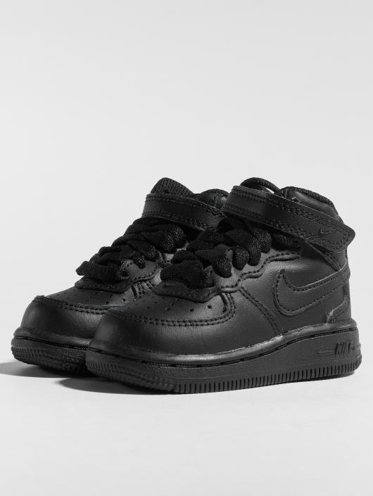 ... Nike Baskets Air Force 1 Mid TD noir ...