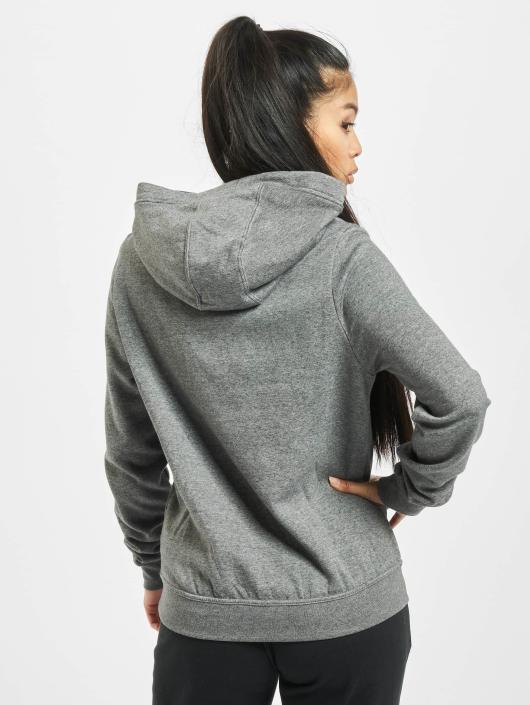 Nike Bluzy z kapturem Garoo szary