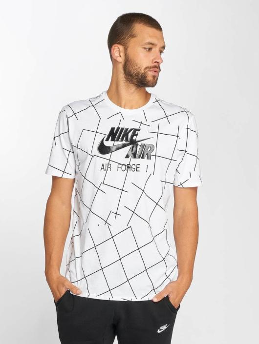 Nike Camiseta Air Force 1 2 blanco