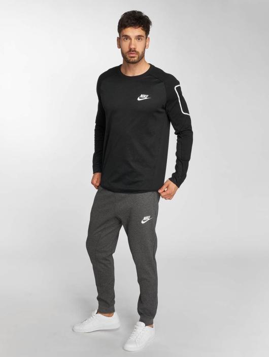 Nike Camiseta de manga larga Sportswear AV15 Fleece negro