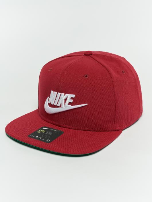 Nike Casquette Snapback & Strapback Pro Snapback rouge