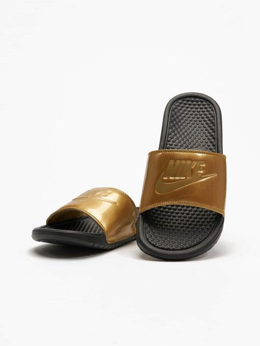 It Sandals Benassi Do Golden Nike Just Blackmetallic qcjRL534A