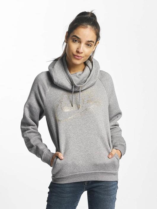 Nike Hoodie NSW Metallic Rally grey