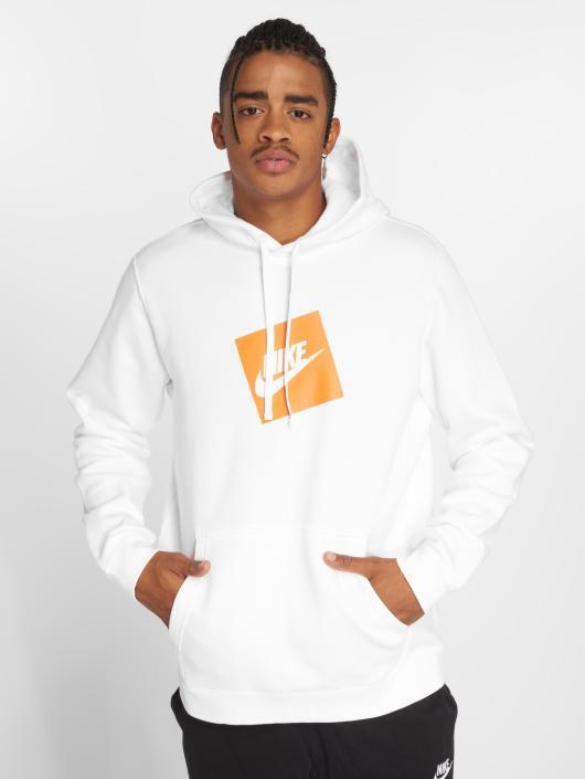 nike hoodie hvid
