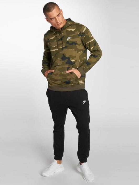 Nike Hoody Sportswear Club Fit olijfgroen