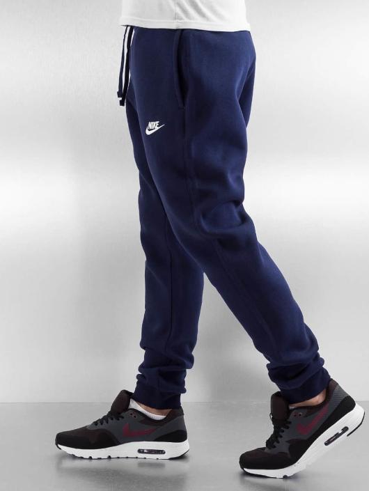 Nike joggingbroek NSW FLC CLUB blauw