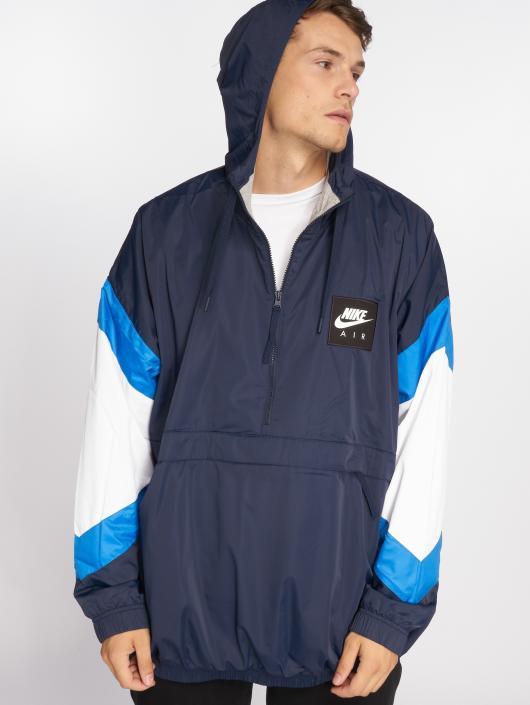 Nike Kurtki przejściowe Woven Air niebieski