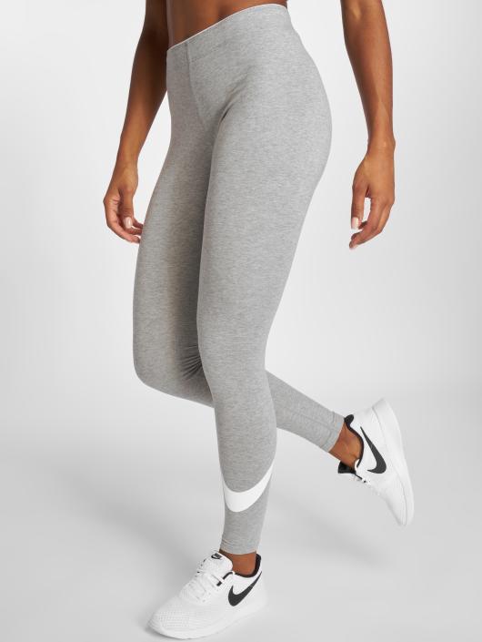 Nike Damen Legging Club Logo 2 in grau 217234