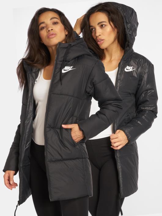 99e72f330e86 Nike Manteau Sportswear noir  Nike Manteau Sportswear noir ...