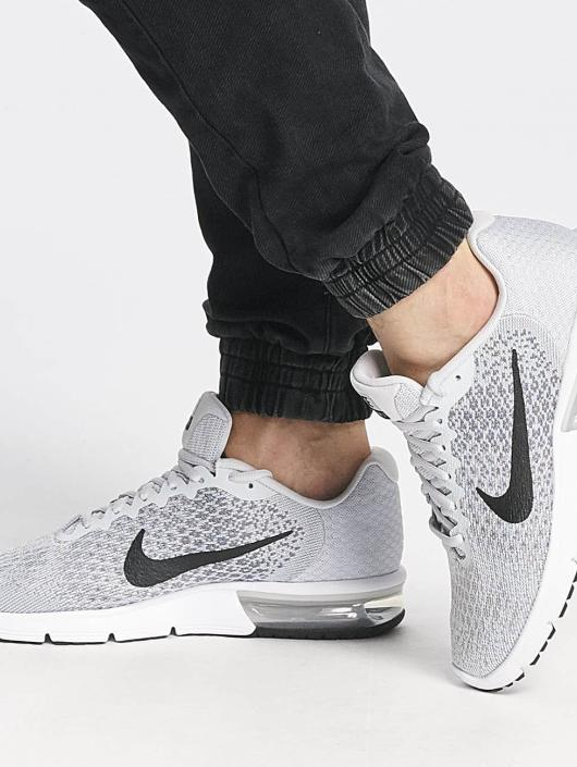 Nike Performance   Air Max Sequent 2 gris Homme Baskets 334010 48a0c103f99b