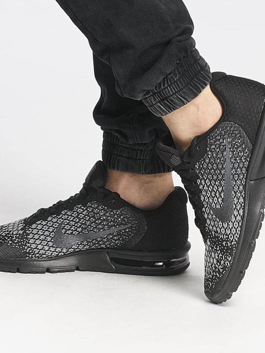 Nike Performance   Air Max Sequent 2 noir Homme Baskets 334005 d907cc6a8171