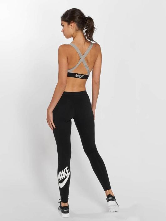 Nike Performance Biustonosz sportowy Pro Indy Logo Back bezowy