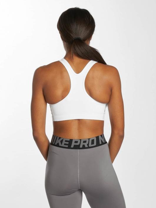 Nike Performance Biustonosz sportowy Swoosh Futura bialy