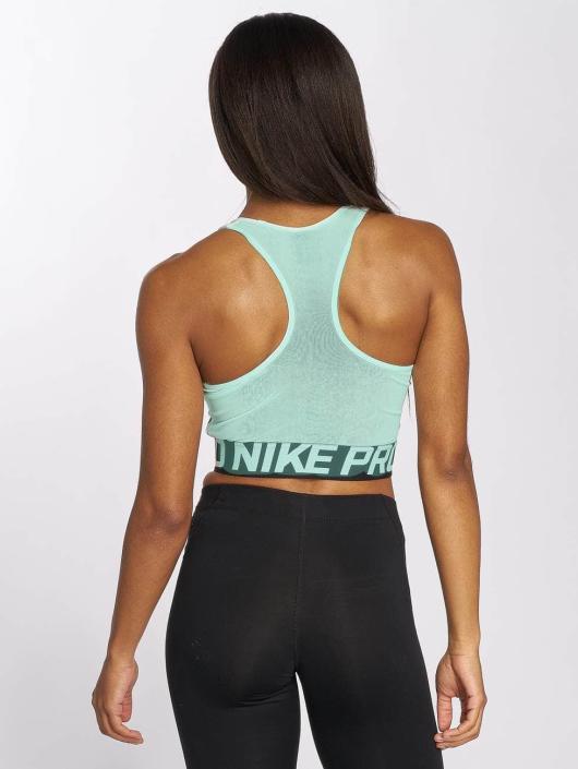 Nike Performance Hihattomat paidat Pro vihreä