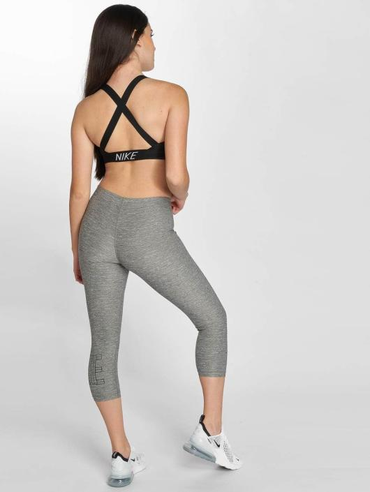 Nike Performance Legging/Tregging Pro Capri gris