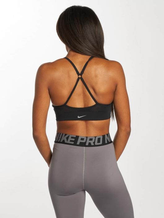 Nike Performance Sport BH Seamless Light schwarz