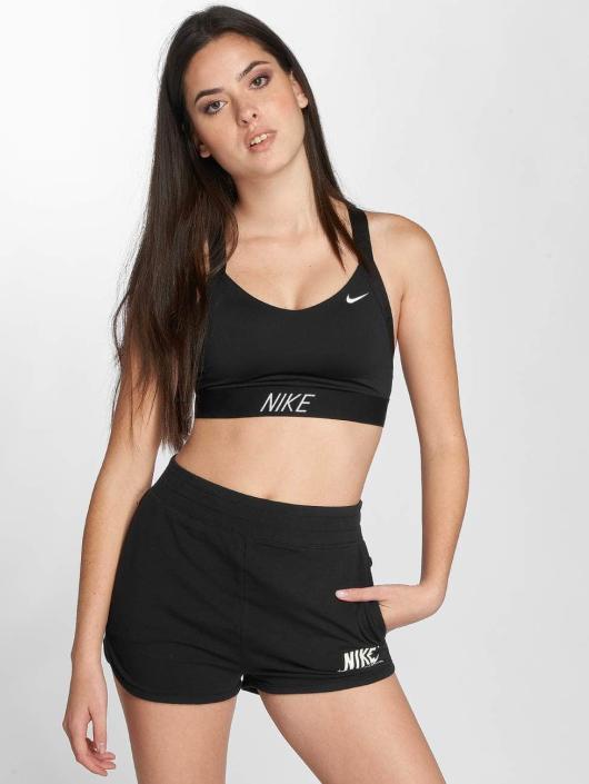 Nike Performance Sport BH Pro Indy Logo Back zwart