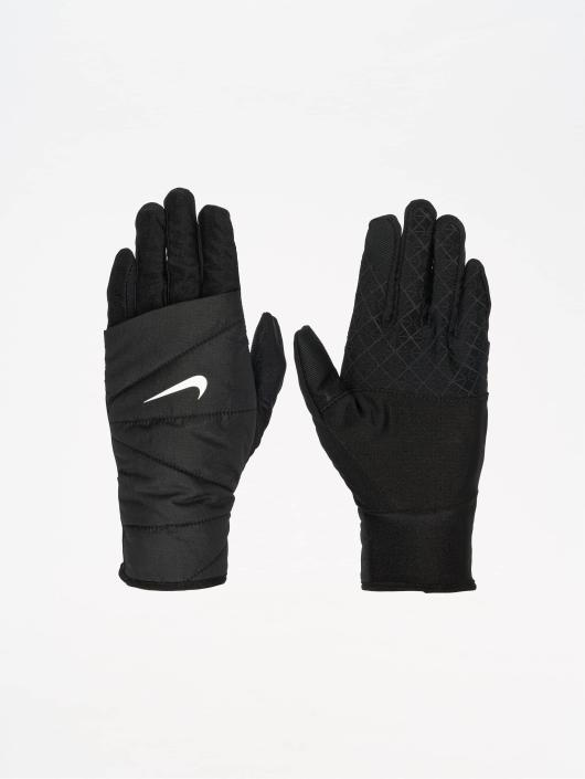 Nike Performance Sporthandschuhe Womens Quilted Run 2.0 czarny