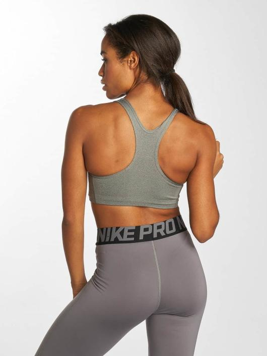 Nike Performance Sports Bra Swoosh gray