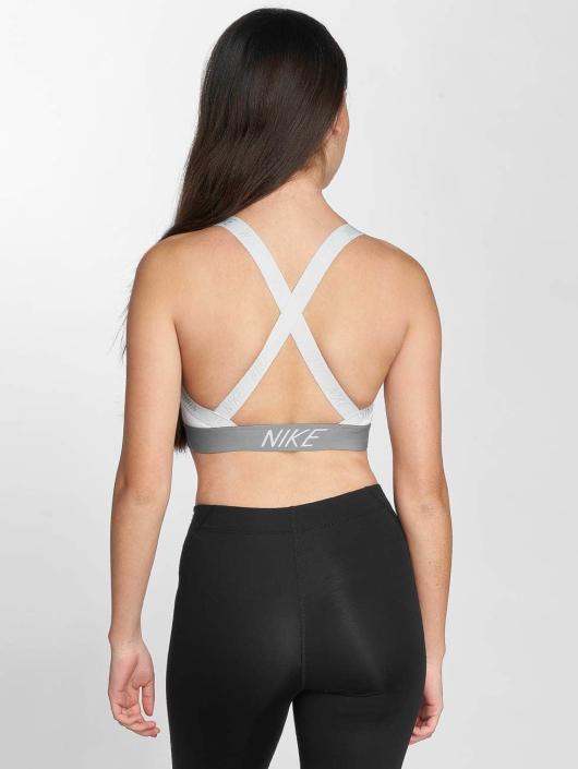 Nike Performance Sujetador desportivo Pro Indy Logo Back blanco