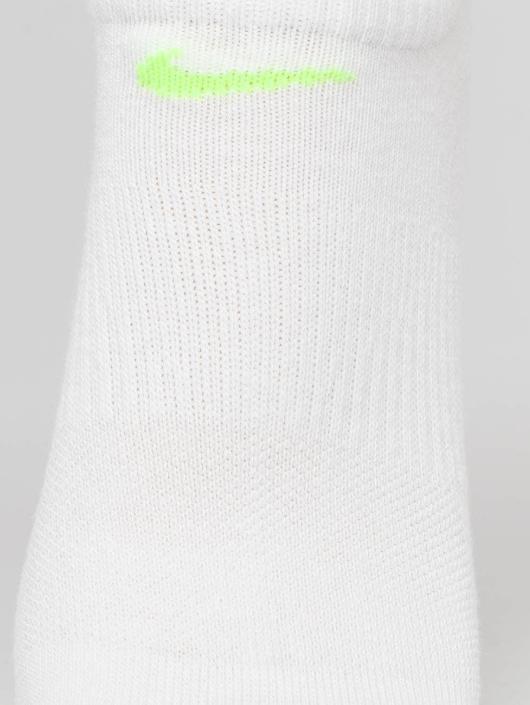 Nike Performance Sukat Everyday Lightweight No-Show Training 3 Pack valkoinen