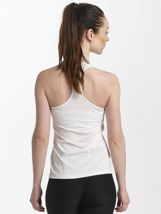 Nike Performance Tank Tops Pro bialy