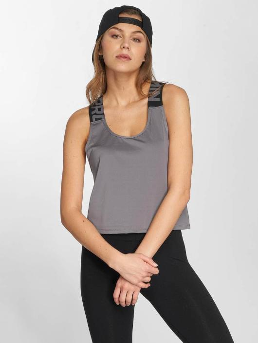 Nike Performance Tank Tops Pro harmaa