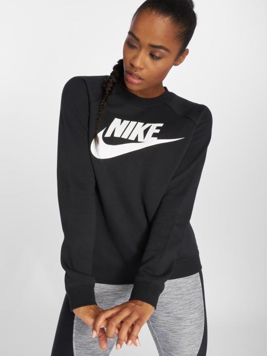 57bb5d3370fa50 Nike Damen Pullover Sportswear Rally in schwarz 466449