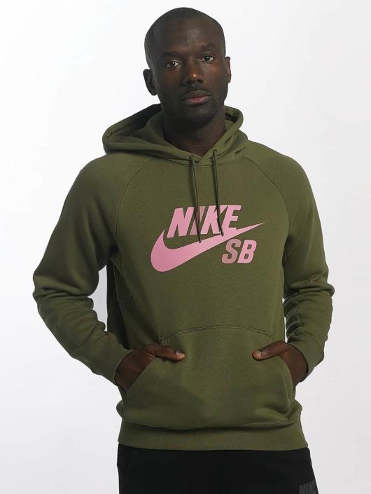 47215d2fe2ee Nike SB Herren Hoody SB Icon in olive 401912