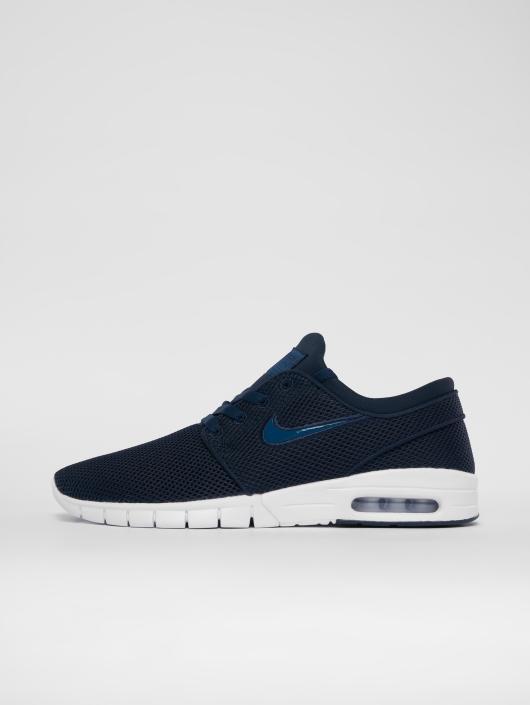 nike sb herren sneaker stefan janoski max in blau 539826. Black Bedroom Furniture Sets. Home Design Ideas