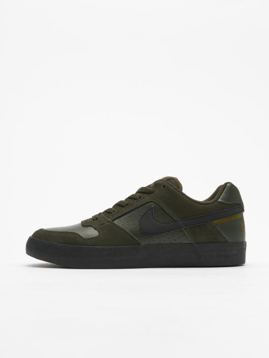 Nike SB Delta Force Vulc Skateboarding Sneakers SequoiaBlackOlive Flak