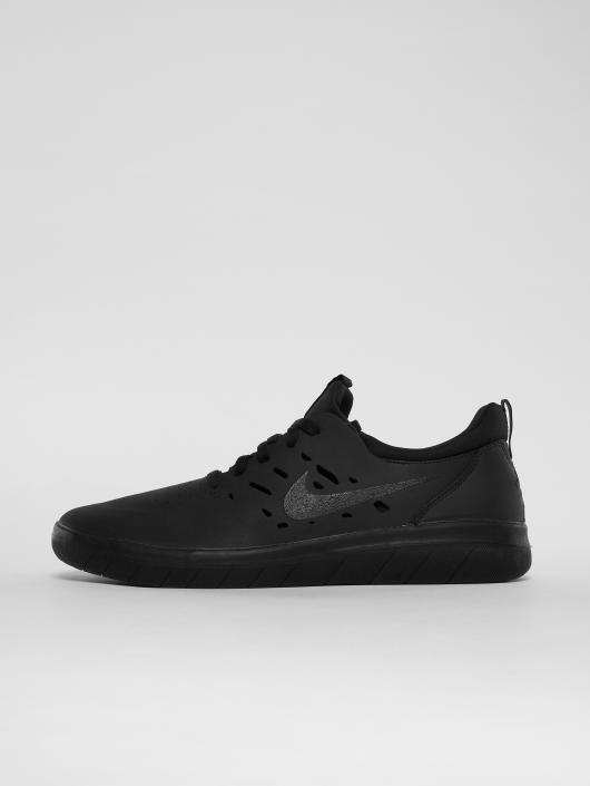 Nike SB Sneakers Sb Nyjah Free Skateboarding èierna