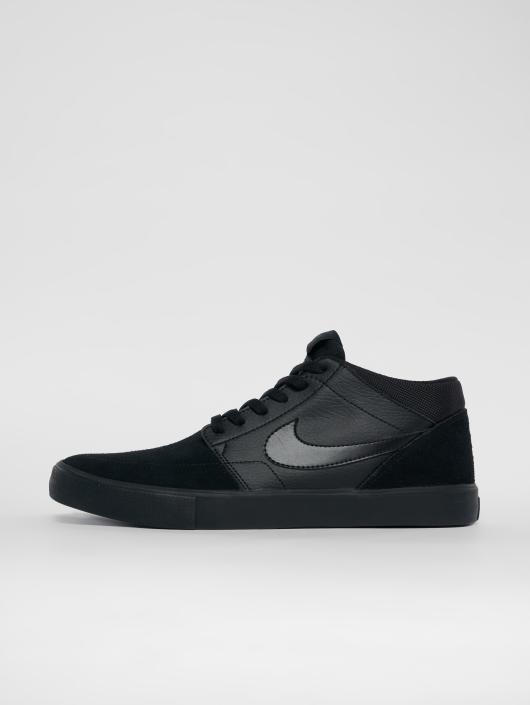 Nike SB Sneakers Solarsoft Portmore Ii Mid Skateboarding black
