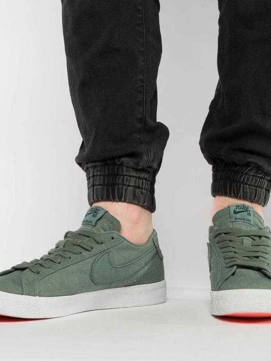 Nike SB Sneakers SB Zoom Blazer Low Canvas Deconstructed zielony