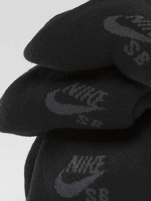 Nike SB Sokker SB Crew Skateboarding 3-Pack svart