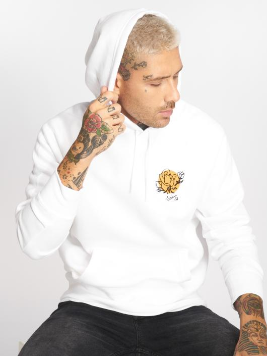Nike SB Sweat capuche Icon blanc