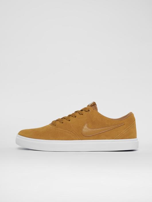 Nike SB Tøysko Check Solarsoft Skateboarding beige
