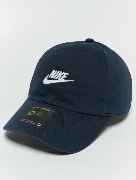 Nike Snapback Caps Unisex Sportswear H86 blå