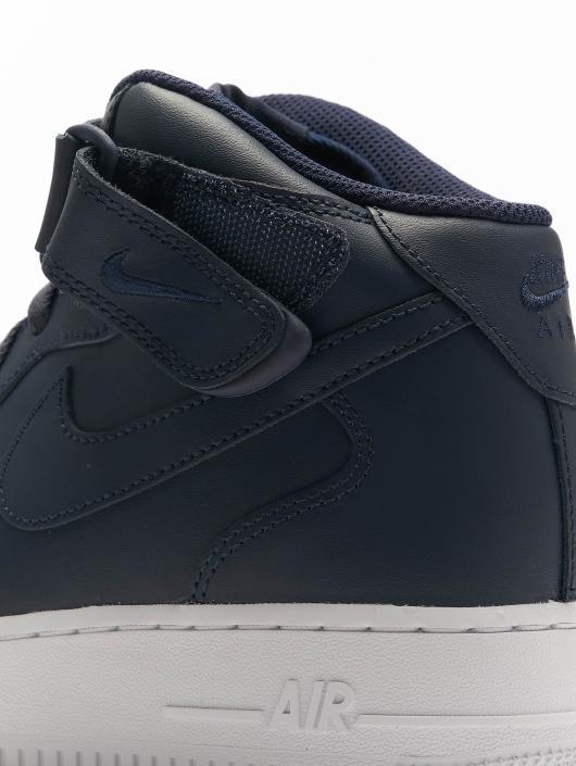 Nike Sneaker Air Force 1 Mid '07 blau