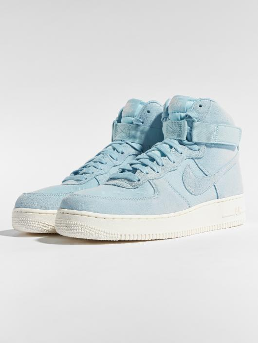 Nike Sneaker Air Force 1 High '07 Suede blau