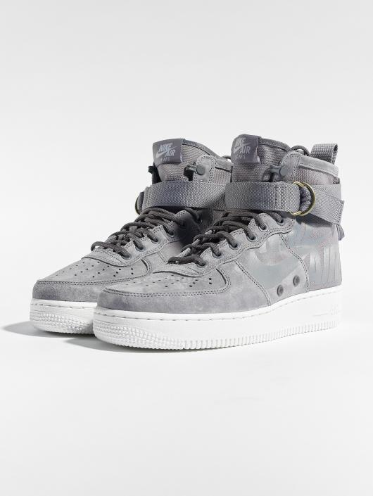 Nike Sneaker Sf Air Force 1 Mid grau