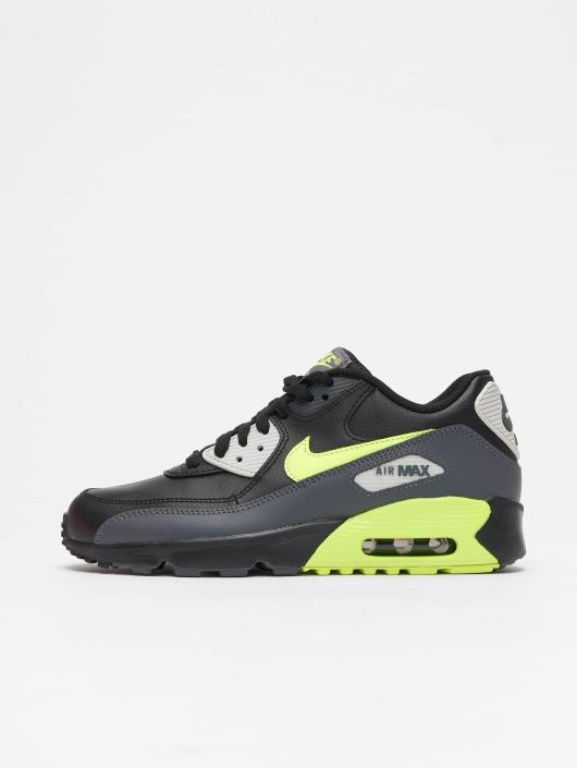 huge discount 7e6b2 493f8 ... Nike sneaker Air Max 90 Leather (GS) zwart ...