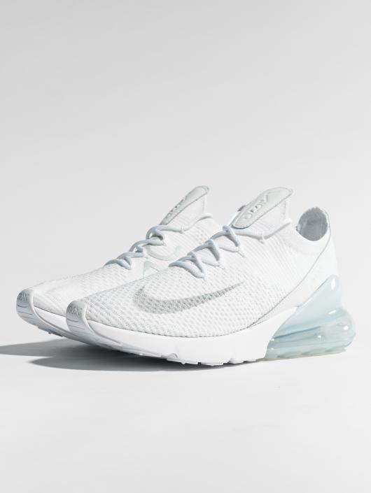 Nike Sneakers Air Max 270 Flyknit bialy