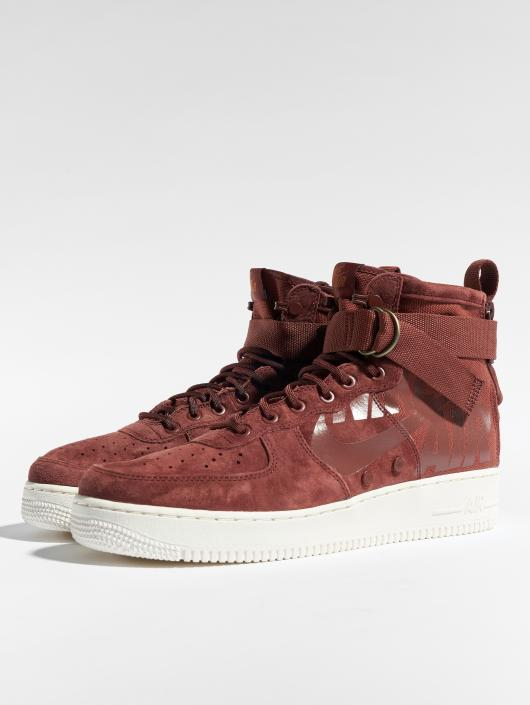 Nike Sneakers Sf Air Force 1 Mid brazowy
