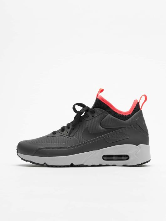 6f82c0315 Nike Air Max 90 Ultra Mid Winter Sneakers Anthracite/Black/Solar Red