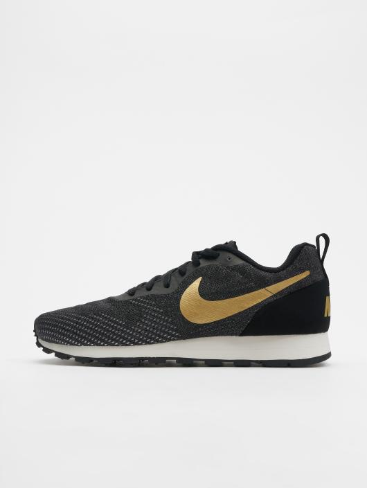 code promo bdfb5 001dc Nike Md Runner 2 Eng Mesh Sneakers Black/Metallic_Gold/Cool Grey/Phantom