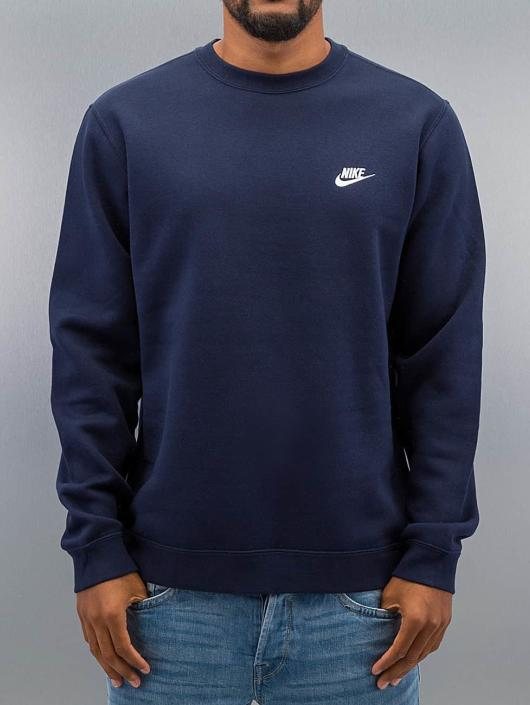 Nsw Sweatshirt Obsidianwhite Nike Club Fleece f6yY7bg
