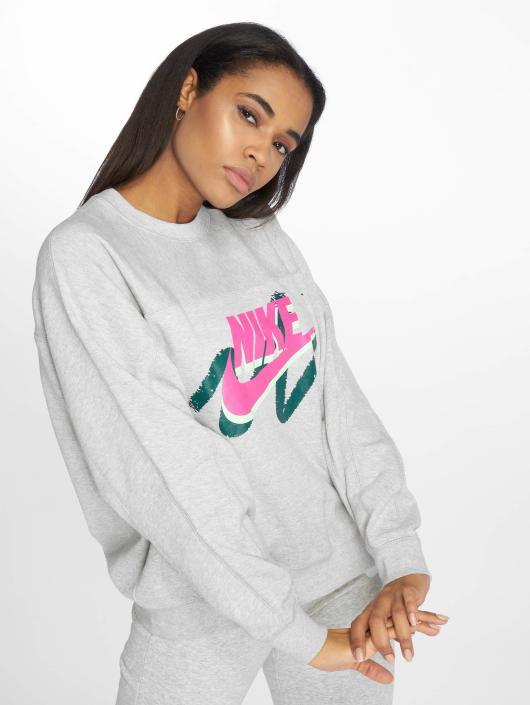 Nike   Sportswear Archive gris Femme Sweat   Pull 538289 d05d429d6821