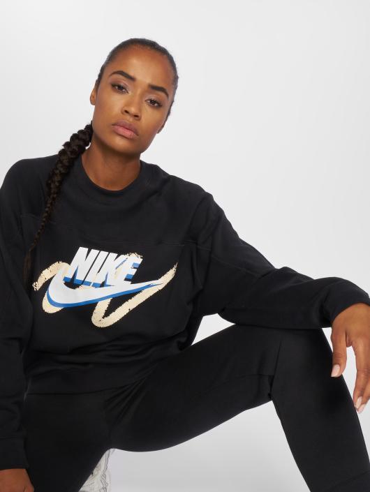 Nike Sweat   Pull Sportswear noir  Nike Sweat   Pull Sportswear ... 0c7abd5bea20